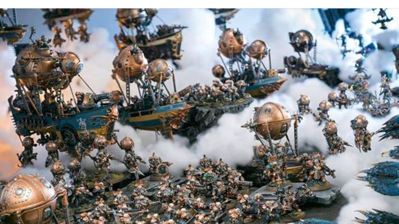 Kharadron Overlords Announcement Kharadron Overlords Miniature