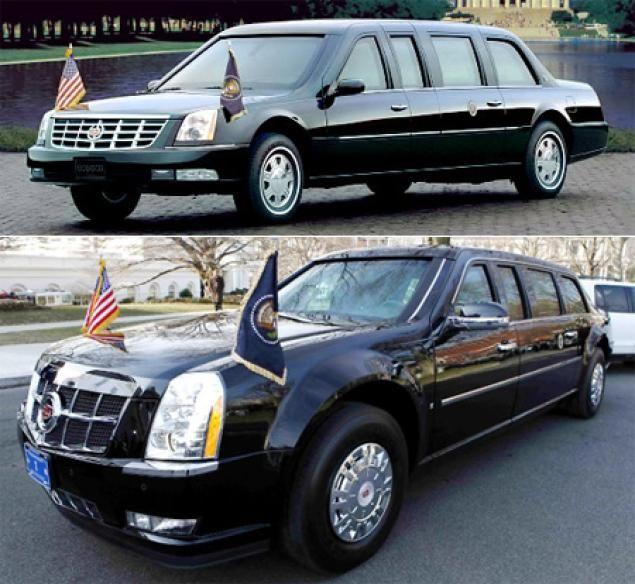 Bush lim (top) vs Obama limo (bottom)   Limousines-Land or Air ...