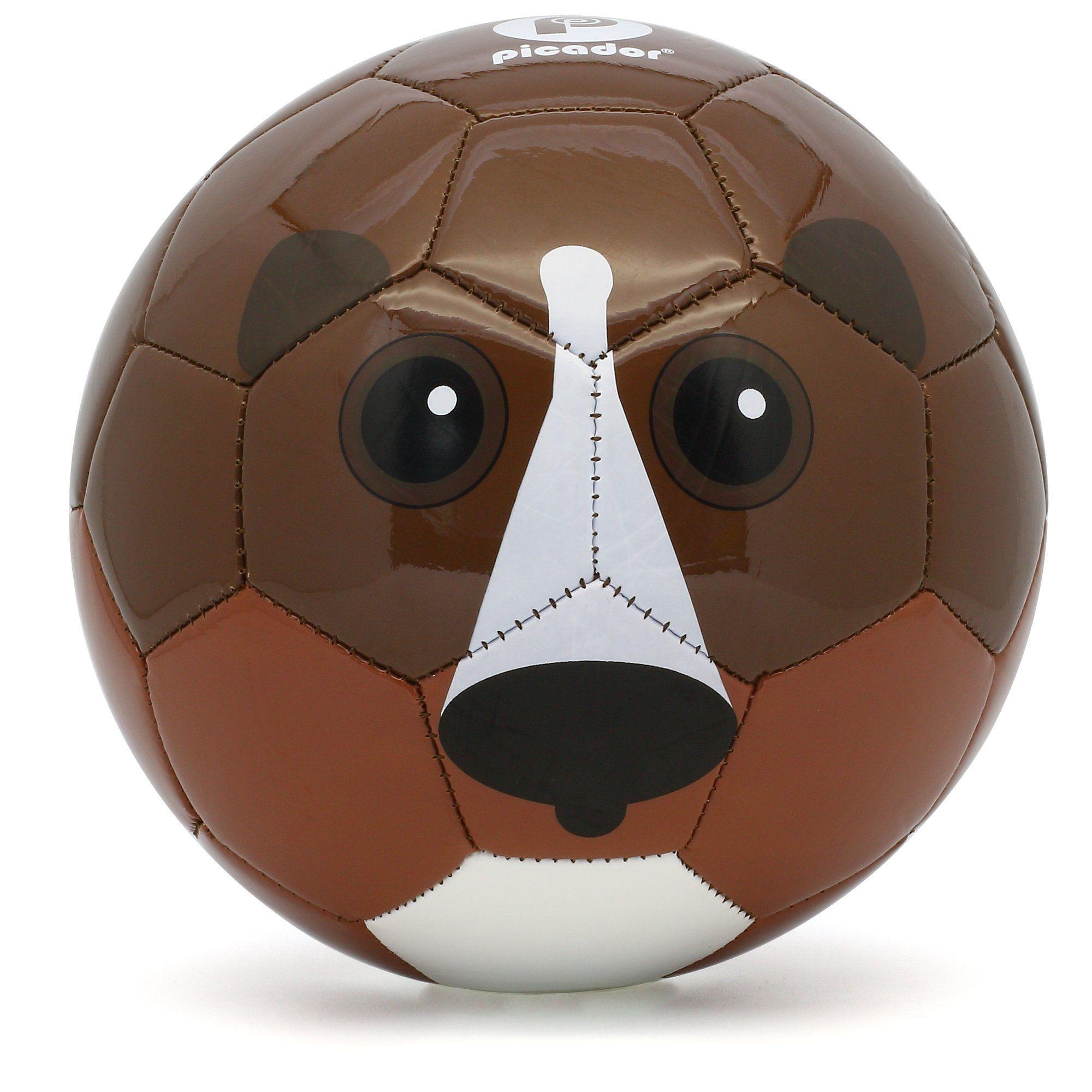 Picador Cute Cartoon Design Soccer Ball Size 3 For Kids Brown Bear Material Durable Tpu 100 Eco Friendly Rubber S Cartoon Design Soccer Ball Cute Cartoon