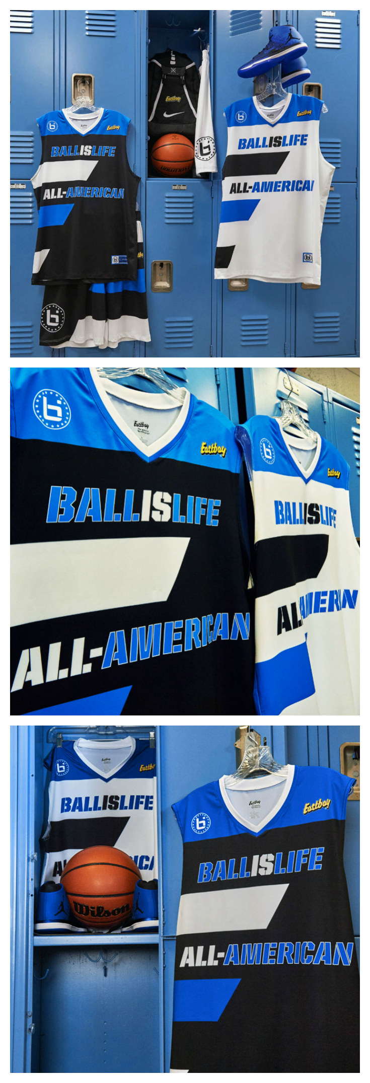 The 2017 Ballislife All-American Game jerseys are ready for some action.  Check  em out here. 32f348360