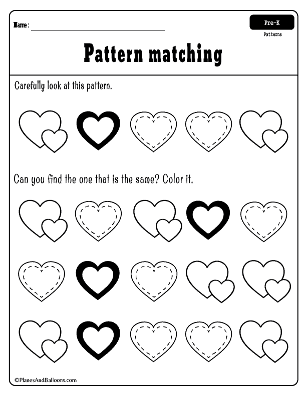 Fun Valentine S Day Worksheets For Preschool Free Printable Valentine S Day Worksheets Full Of He Preschool Valentines Valentine Activities Valentine Lessons