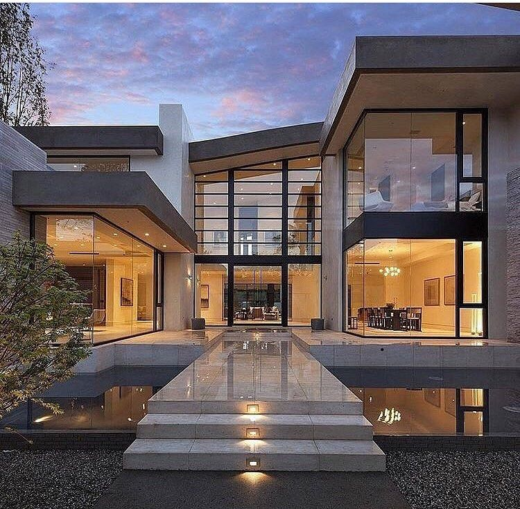 Luxurious Modern Houses On Instagram Luxuriousmodernhouses L Featuring The Bes Modern Architecture House Modern Glass House House Architecture Design