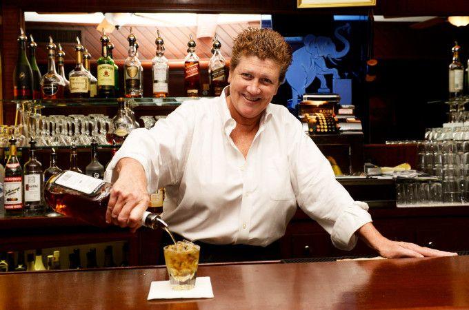Maureen. My former bartender in NYC.