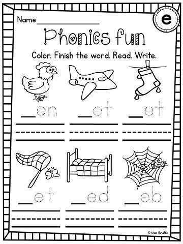 Pin On Short Vowels Short a worksheets for kindergarten