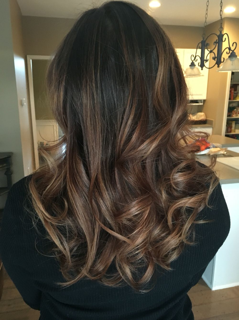 Balayage medium brown , Thank you Salon Bliss!