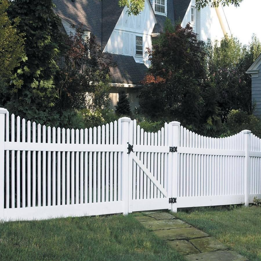 white fence ideas. Explore Vinyl Fence Panels, White Fence, And More! Ideas T