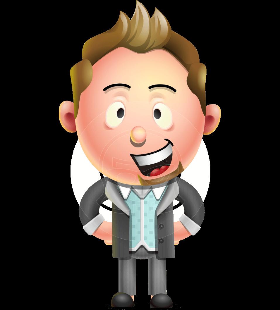 Stylish Man Cartoon 3d Vector Character Design Graphicmama Vector Character Design Character Design Cartoon