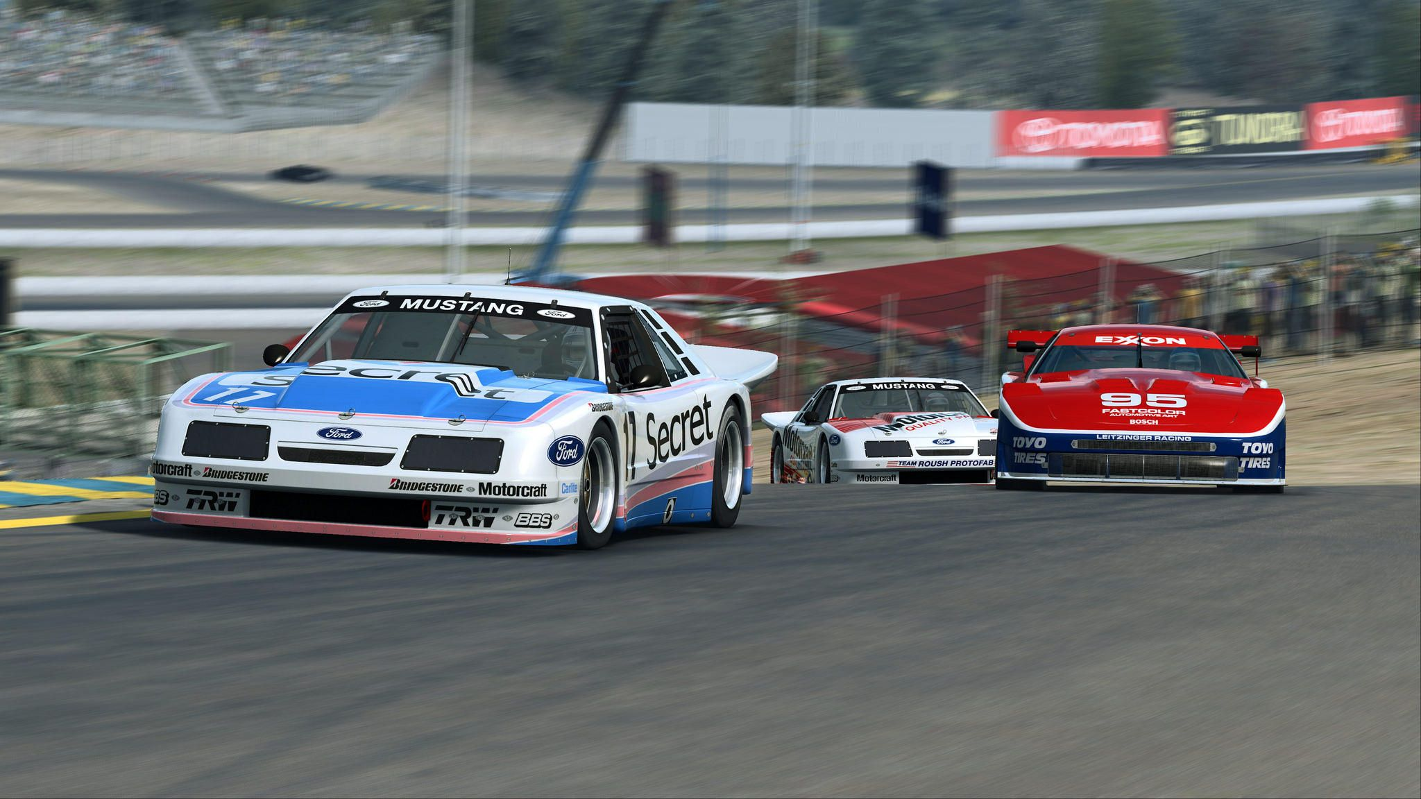 RaceRoom - Nissan 300ZX GTO and Mustang IMSA GTO previews | Racing