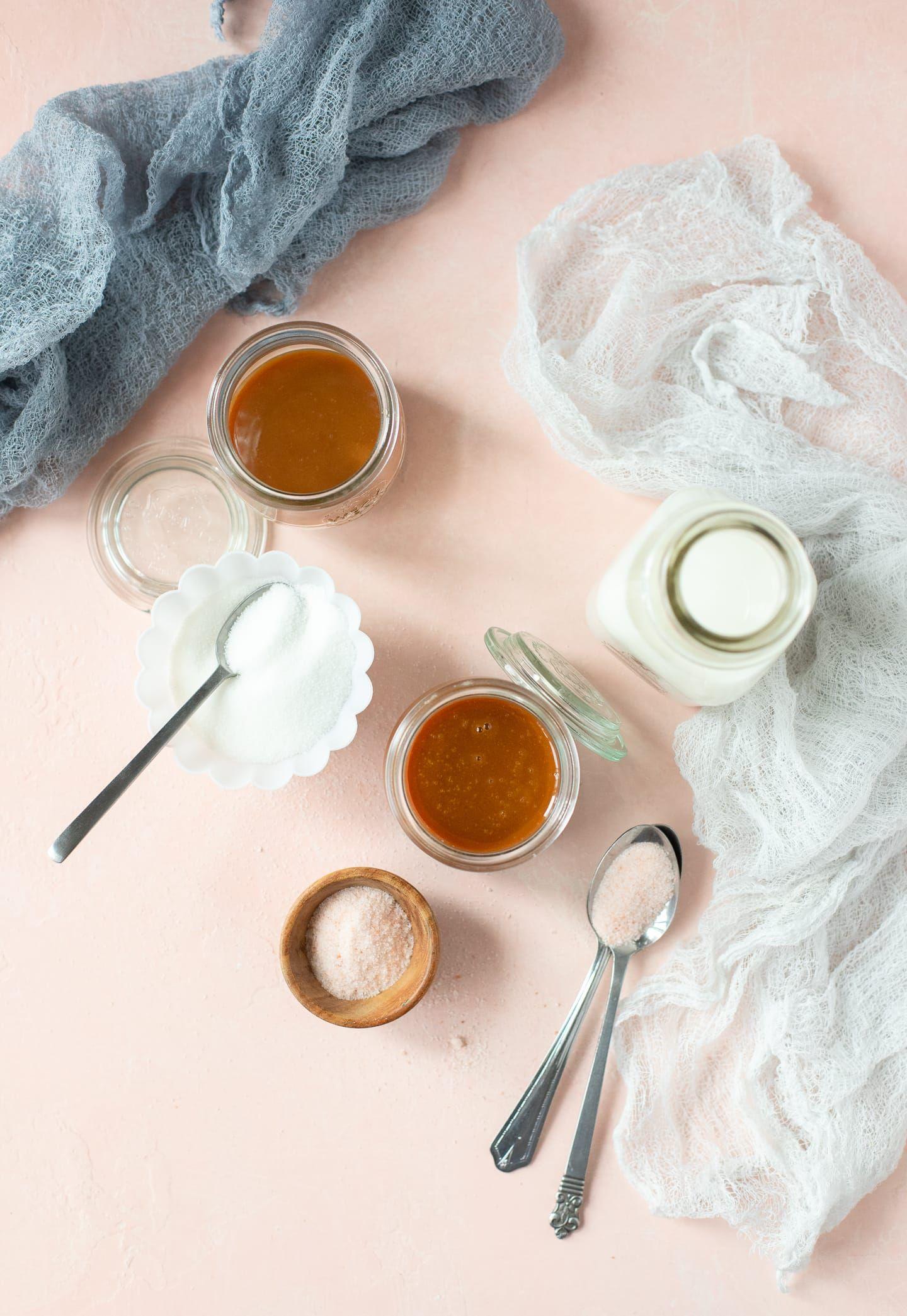 Caramel sauce with milk how to make caramel bright
