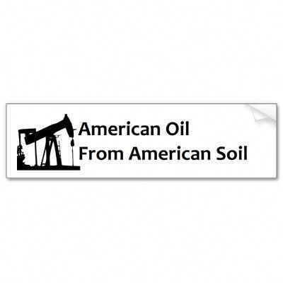 Oilfield Bumper Sticker Pump Jack by oilfieldstore We need