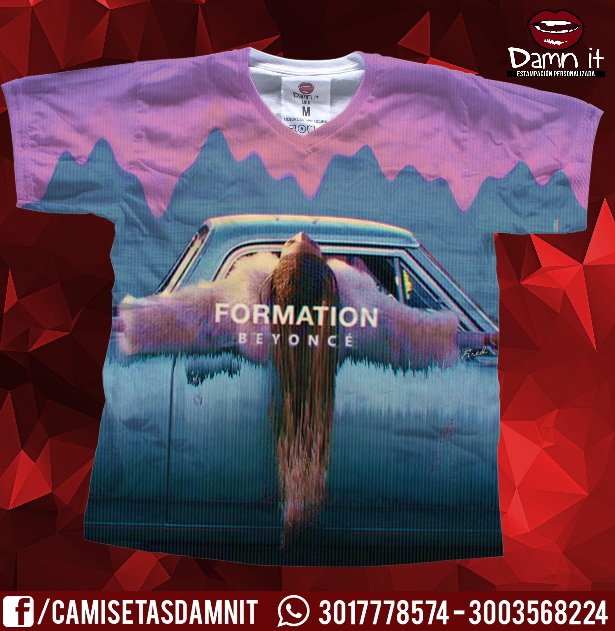Camiseta FORMATION de Beyoncé  https://www.facebook.com/camisetasdamnit