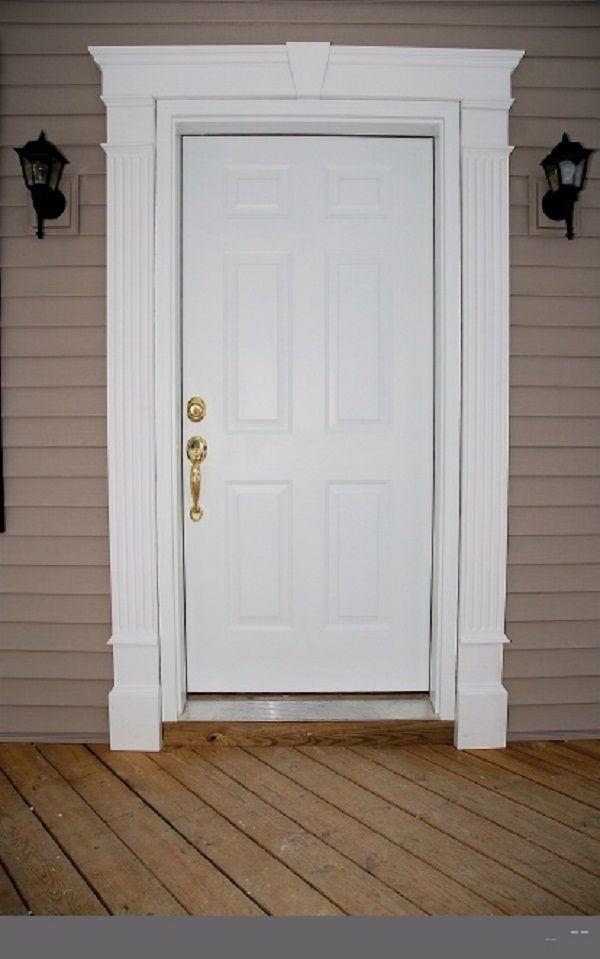 Front Entry Door Trim Ideas Door Designs Plans Window Trim Exterior Exterior Door Trim Exterior Entrance Doors