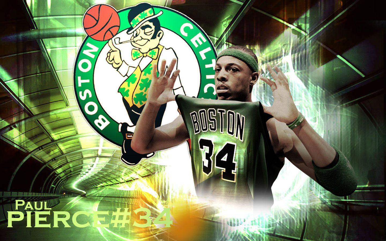 Pin By Alex Paretchan On Bleed Green Boston Celtics Paul Pierce Nba Wallpapers