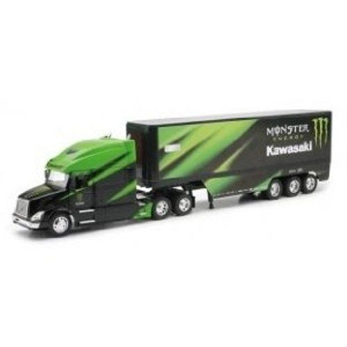 Team Ray Trucks >> Amazon Com New Ray 1 32 Monster Energy Kawasaki Factory