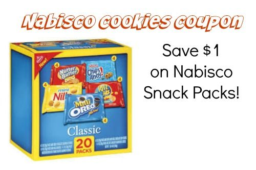 image regarding Nabisco Printable Coupons known as Pin by means of Cheryl Mauch upon Favorites Snack baggage, Treats
