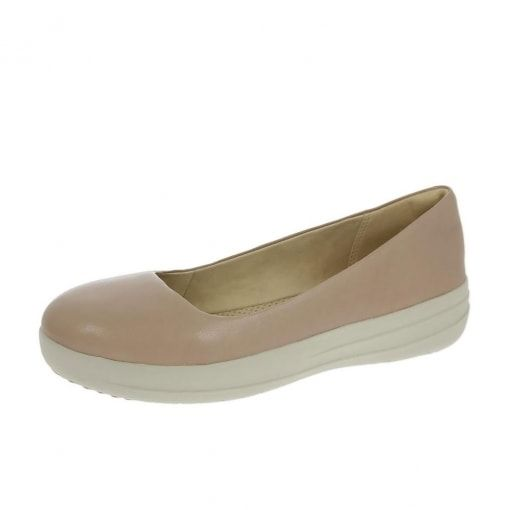 ef7f9c7904a1 FitFlop™ F-Sporty™ Ballerina Shoes Stone