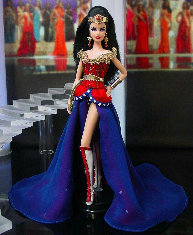 NEW 2019 BARBIE DC COMICS SUPER HERO  WONDER WOMAN  TANK TOP  for Barbie doll