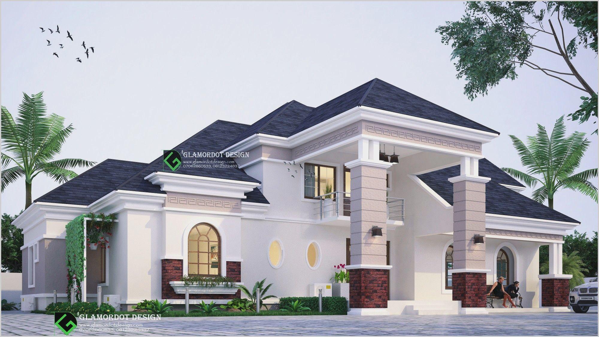2 Bedroom Bungalow Designs In Nigeria In 2020 Bungalow House Design Bungalow Design House Plans Mansion