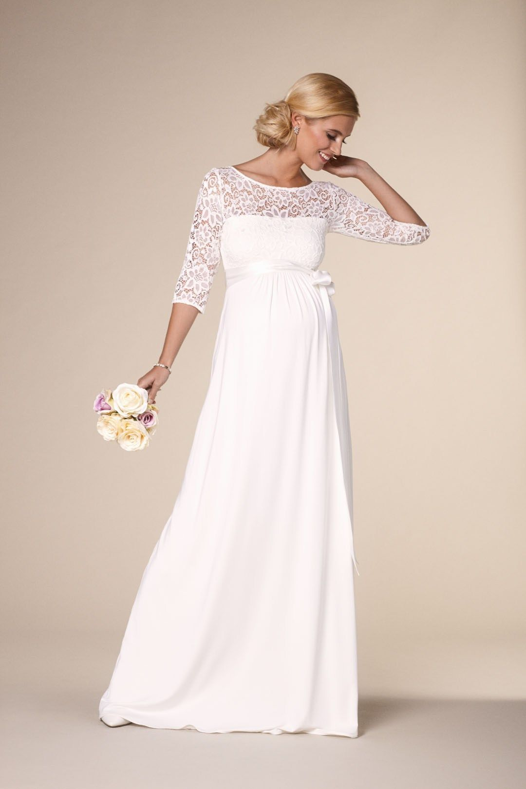 Brautkleider für Schwangere von Boesckens Erkelenz  Brautkleid
