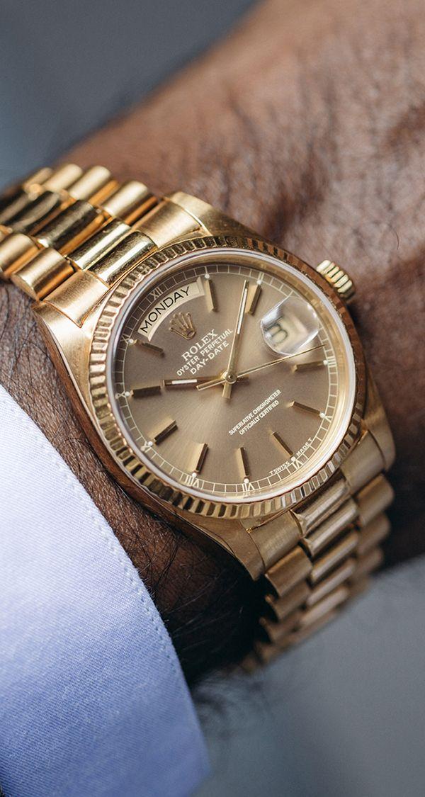 991e1e91c00 Vijay Amritraj s Rolex Day-Date.