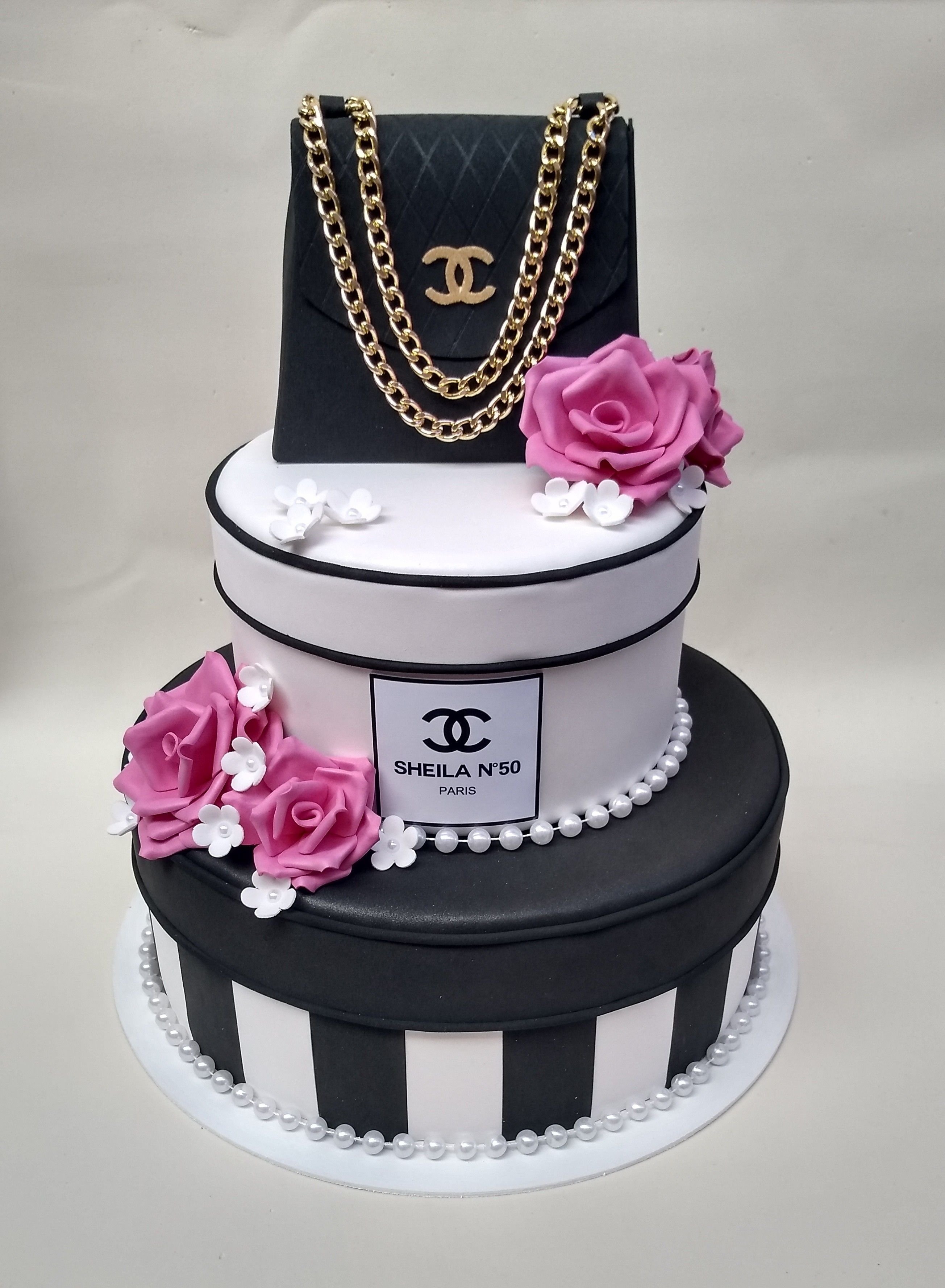 O Tema Chanel Traz Delicadeza E Elegancia A Decoracao Nesse