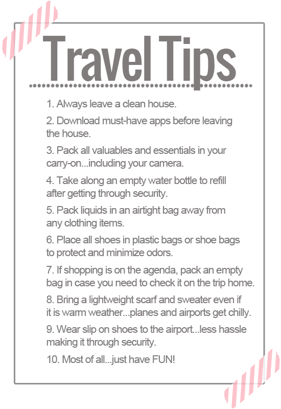 StyleLife Travel Tips LightFlightTravelScale Light Flight - 8 tips on how to pack light for your next vacation