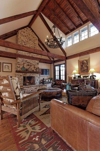 Family Room Southwest Interior Design Ideas Design, Pictures