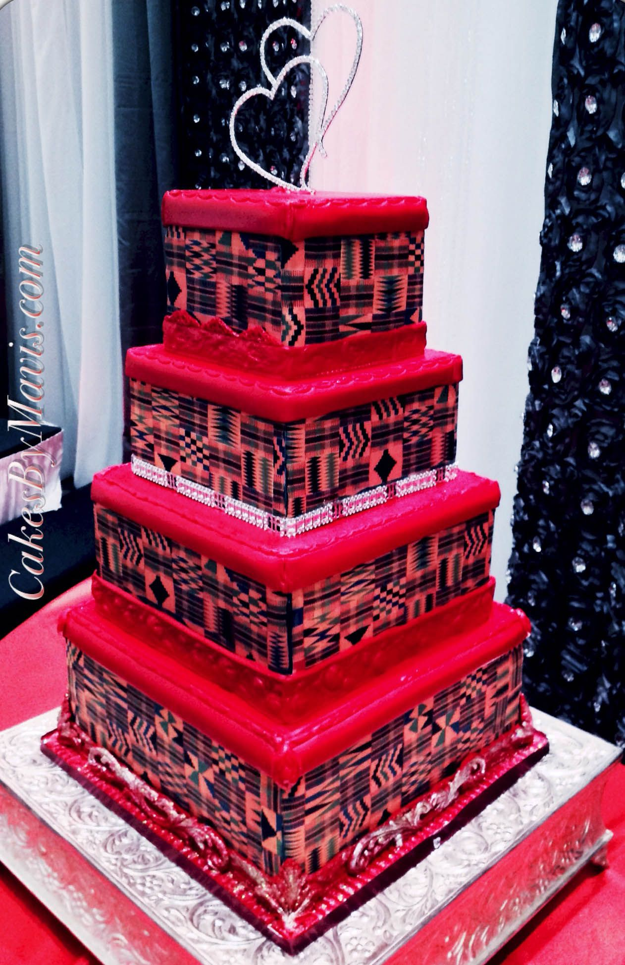 4 The Traditional Ghana Wedding Cake African Wedding Cakes Unique Wedding Cakes African Cake