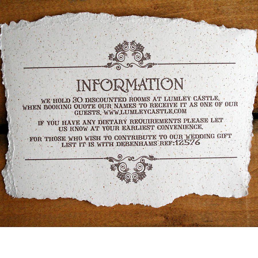 Vintage Style Wedding Invitation | Vintage style weddings, Wedding ...