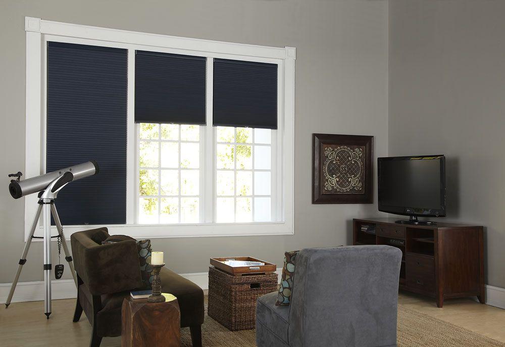 foto de Instant entertainment center with blackout shades Home