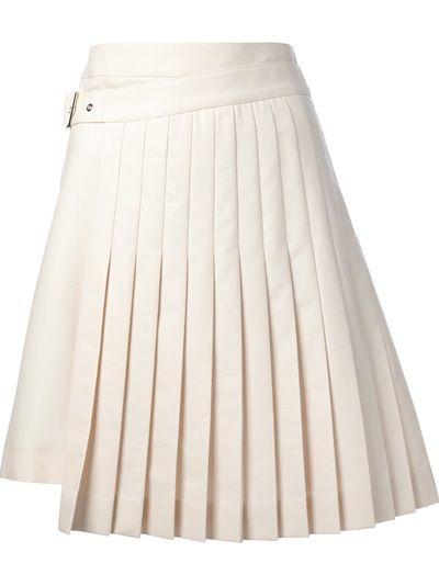 ba7139c0db SALVATORE FERRAGAMO Wrap Around Pleated Skirt | Get noticed ...