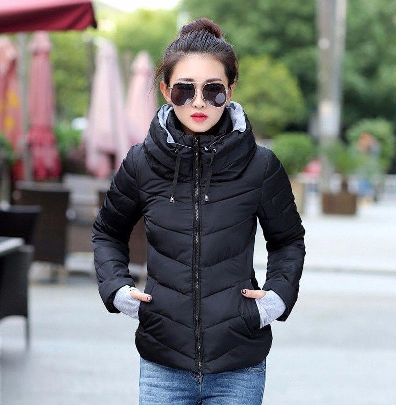 Fashion Womens Short Winter Padded Coat | Winter jackets women