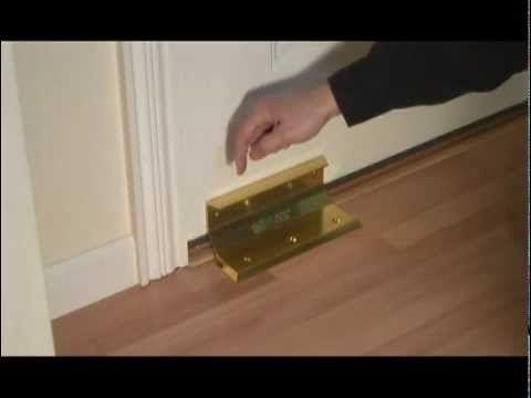 Nightlock Security Door Barricade Helps Prevent Door Kick
