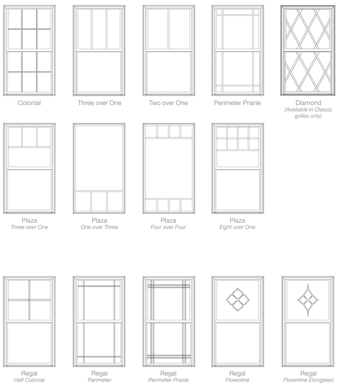 Grille Line Drawings Web Window Grids Window Grill Design Window Trim Exterior