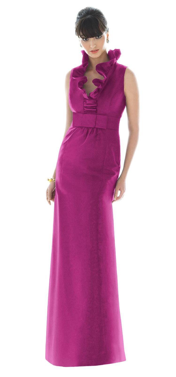 Alfred Sung Bridesmaid Dresses - Style D467 - Peau De Soie ...