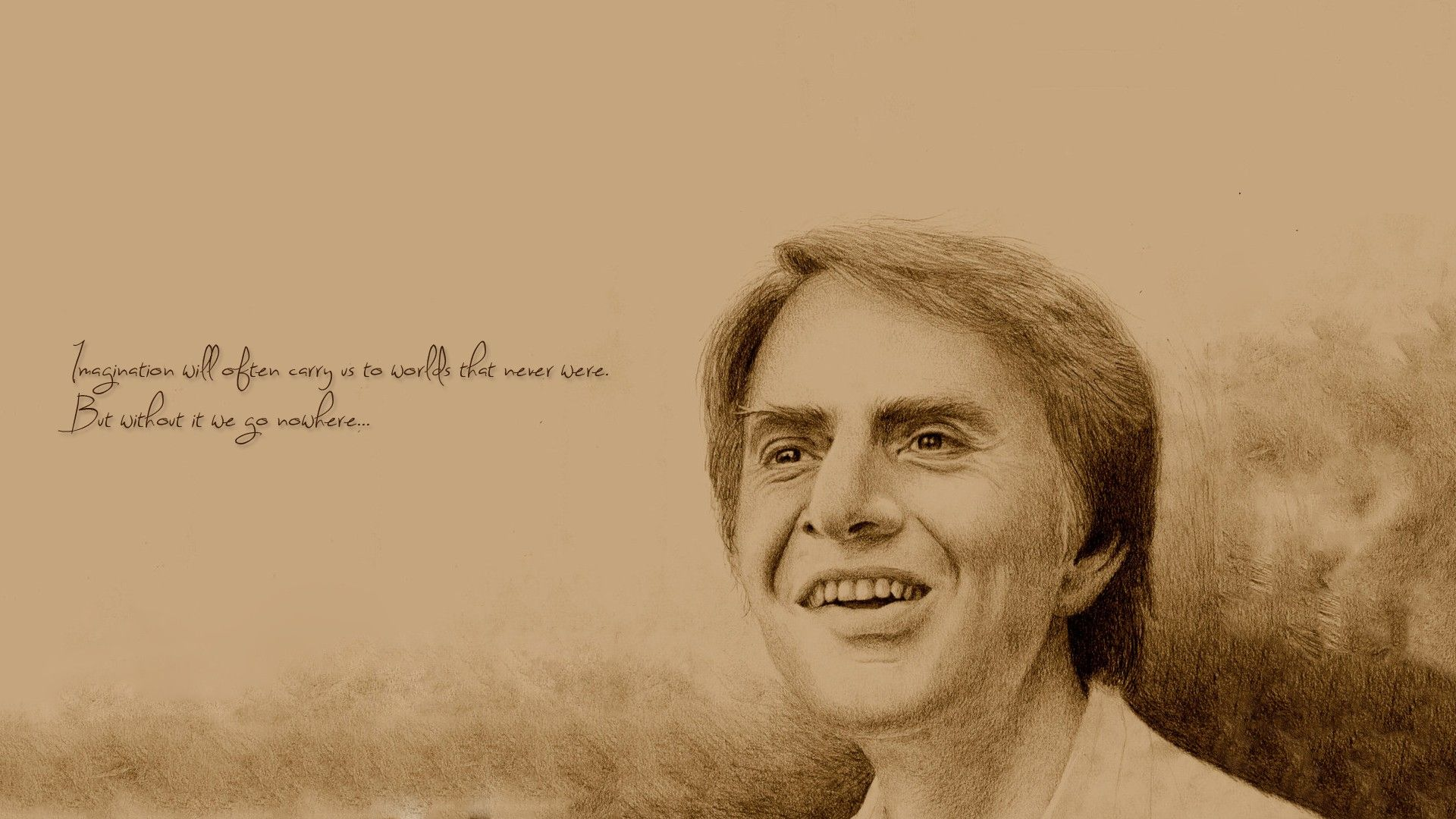 Quotes Carl Sagan Science #quotes #wallpapers