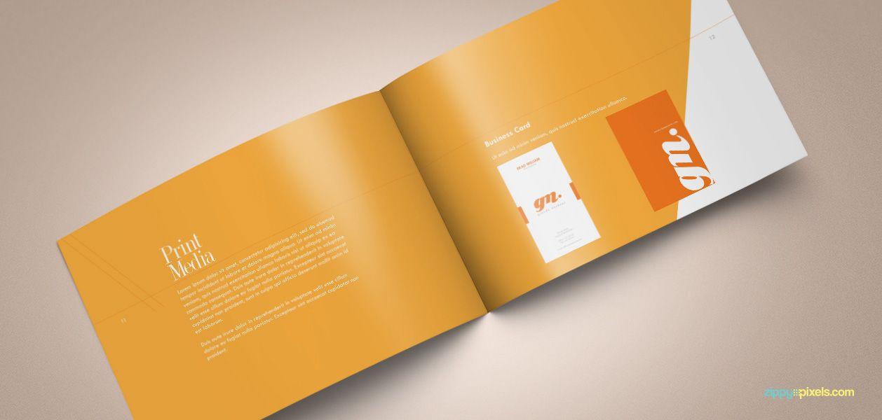 Download Professional Brand Guidelines Brandbook Template | Brand ...