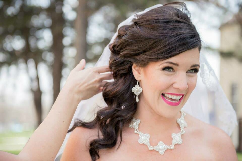 wedding hair and makeup by flair style lounge austin tx