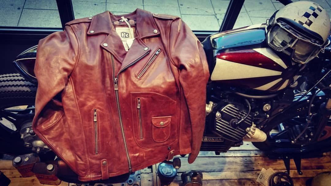 Daytona 73 dispo au shop blouson #Redford en cuir de