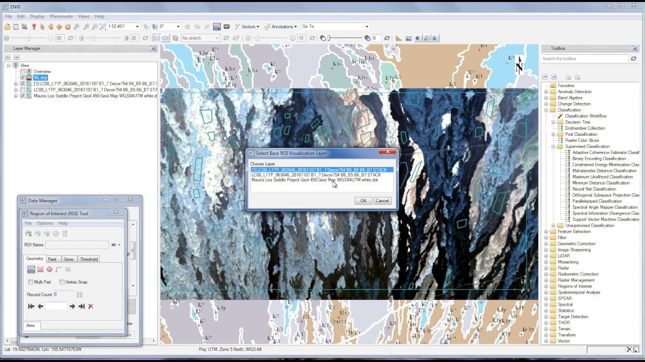 Formatting of Final Shape File and Conversion to ROI using ENVI