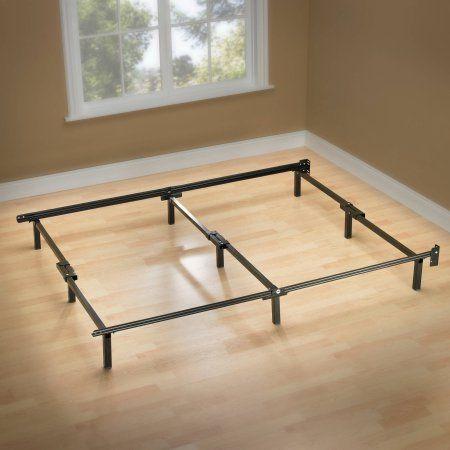 Spa Sensations Compact 7 Adjustable Metal Bed Frame Compact