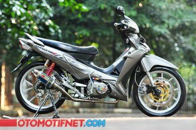 Modifikasi Motor Honda Supra X 125 Mobil