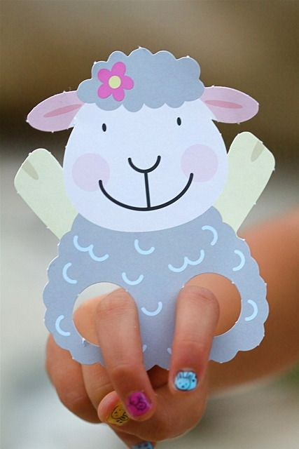 Easter Party Ideas Photo 32 Of 34 Sheep Crafts Crafts Crafts For Kids