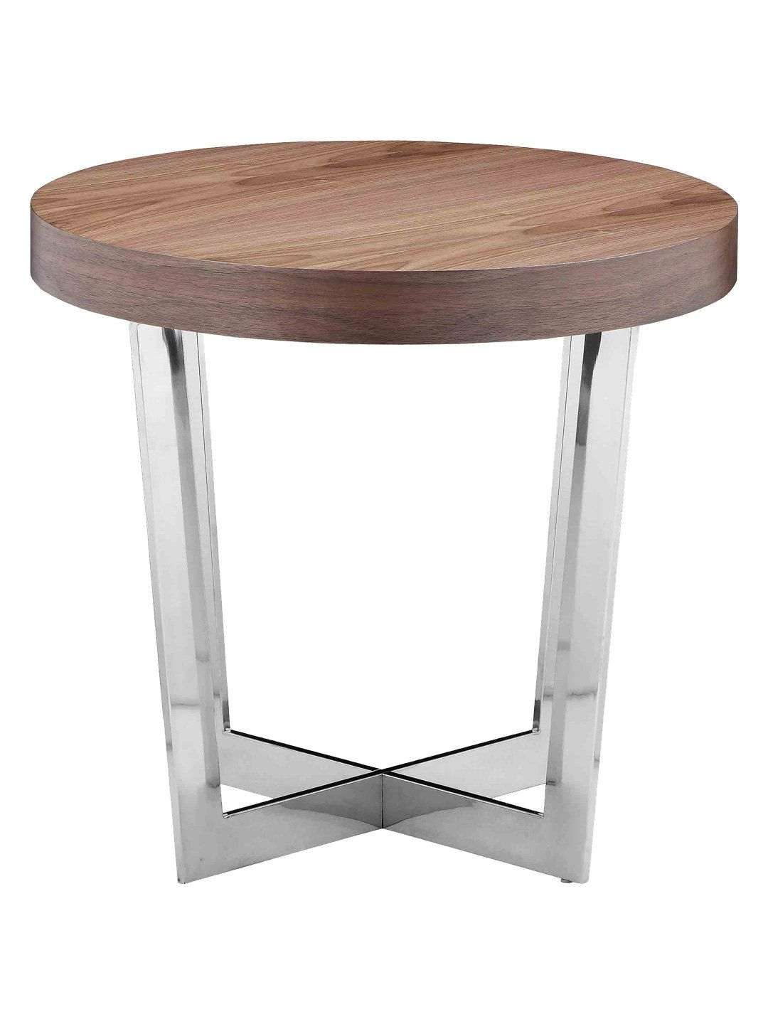 Oyster Side Table By Pangea Home At Gilt Side Table Modern Side Table Table [ 1440 x 1080 Pixel ]