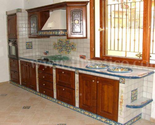 Resultado de imagen de cucina in muratura ad angolo   casa ...