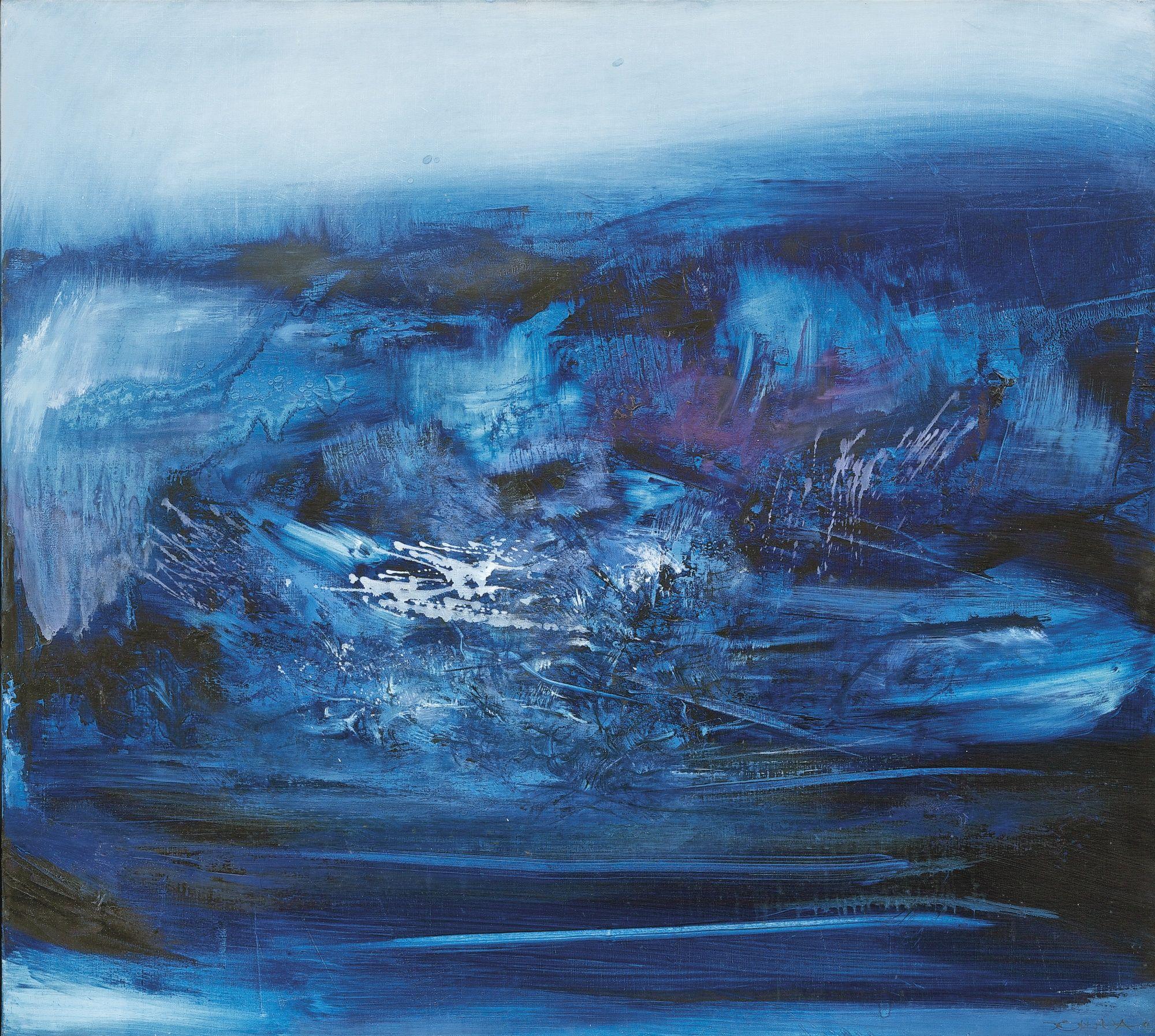 Zao Wou Ki Zao Wou Ki Art Abstrait Zao