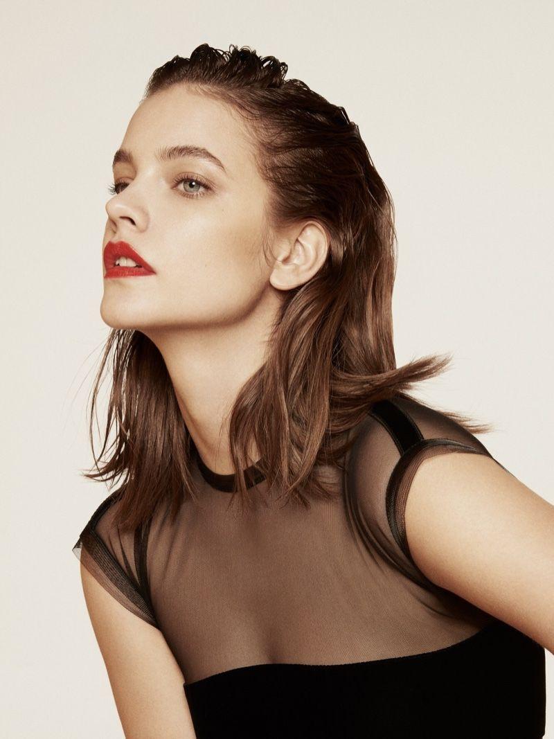 Barbara Palvin Poses In Elegant Looks For Instyle China Barbara Palvin Instyle Barbara