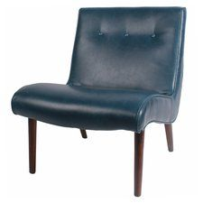 Baccus Slipper Chair Chair Accent Chairs Bonded