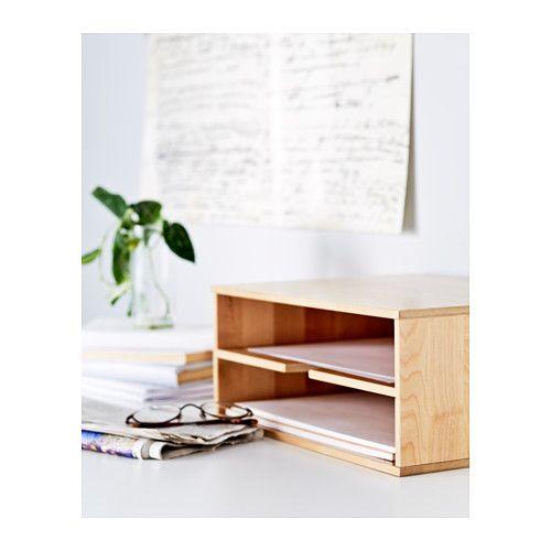 f rh ja corbeille courrier ikea ikea pinterest corbeille ikea et bureaux design. Black Bedroom Furniture Sets. Home Design Ideas