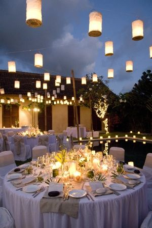 Villa Wedding Reception in Bali